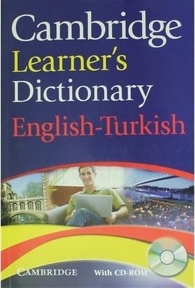 Cambridge Learner's Dictionary English-Turkish