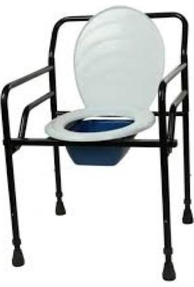 Abc Katlanabilir Hasta Tuvalet Sandalyesi Klozetli Wc Li Sandalye