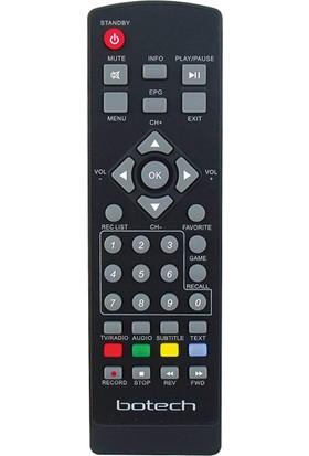 Elektrogun Botech Bc-7200 Fta UsbAcıko Kayıtlı Uydu Kumanda