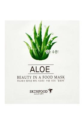 Skinfood Beauty in a Food Tek Kullanımlık Yüz Maskesi (Aloe)