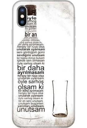Peoples Cover Apple iPhone X Silikon Baskılı Telefon Kılıfı