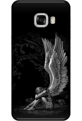 Peoples Cover Samsung Galaxy C5 Silikon Baskılı Telefon Kılıfı