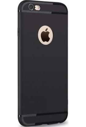 Syronix Apple iPhone 8 Plus Tıpalı Kamera Korumalı Pro Silikon Kılıf + Nano Cam