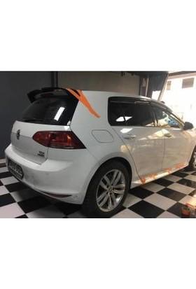 Güneşli Garaj Volkswagen Golf 7 Yan Marşpiyeller ve Spoiler