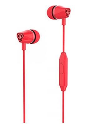 Yookie YK1020 Stereo Kulakiçi Kulaklık - Kırmızı