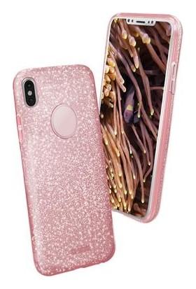 Sbs Sparky Apple iPhone X Simli Kılıf Pembe