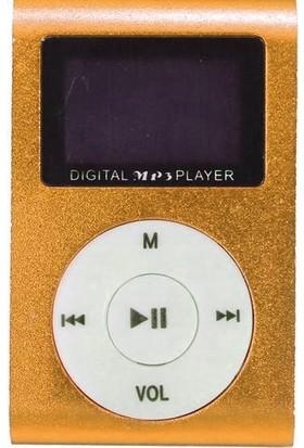Newnet Dijital Ekranlı Mp3 Player - Turuncu