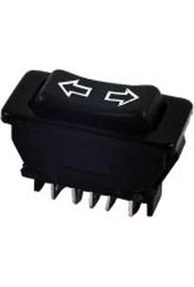 Aksa Cam Ve Anten Açma Kapama Anahtarı 12B 20 Amper