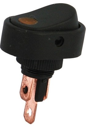 Aksa Oval Unıversal Işıklı Açma Kapama Anahtarı Spotlusarı
