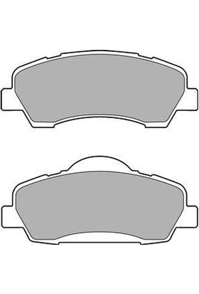Delphi Fren Balatası Ön Peugeot 301 1.2 Vtı 72 12 1.6 Vtı 115 12 C Elysee 1.2 Vtı 1.6 Vtı 1.6H 12 Del Lp2485