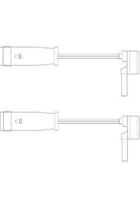 Delphi Balata İkaz Kablosu Ön Arka 100Mm Mercedes C Serı W203 W220 W211 00 07 Del Lz0153