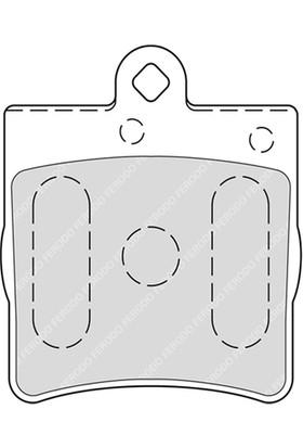 Ferodo Fren Balatası Arka 21919 Mercedes C Serısı W202 C 200 Kompressor 95 00 Frd Fdb1311