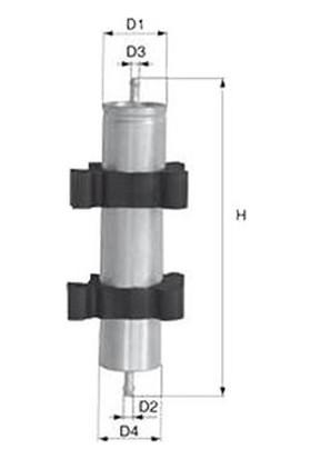Grat Yakıt Filtresi Audı A4 8K A5 8T3 2.0 2.7 3.0 Tdı V6 08 Q7 3.0 Tdı 4.2 Tdı 2010 Grt 26302