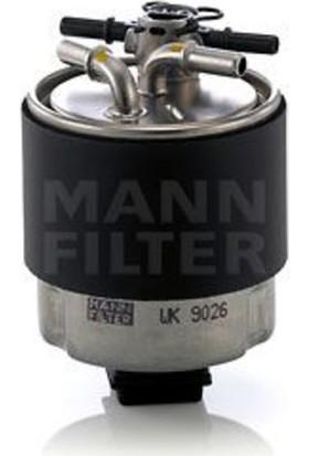 "Mann Filtre Mazot Acık Tıp Sensör Süngerli Nissan Qashqaı 0711 ""1.5 Dcı"" Man Wk9026"