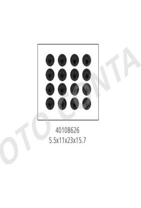 Oto-Conta Subap Lastiği Tk.5.5M 16Adet5 5X11X23X15 7MmD4F