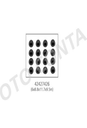 Oto-Conta Subap Lastiği 6Mm 16Adet Viton6X8.8X11.7X9.5Mm