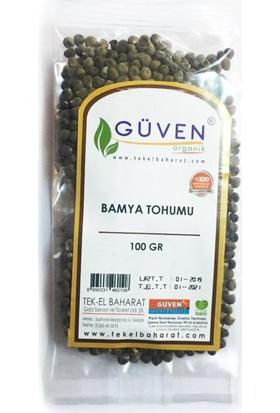 Güven Bamya Tohumu Organik 100 gr
