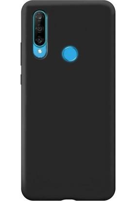 DVR Huawei P30 Lite Kılıf Silikon Premier (Siyah)