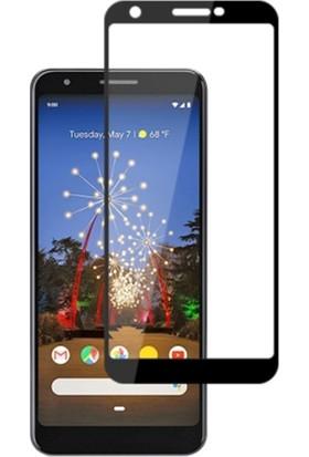 Ally Google Pixel 3A Xl 3D Full Kaplama Ekran Koruyucu Siyah
