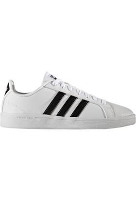 68bbde1c8ae040 Adidas Cloudfoam Advantage W-1 Beyaz Siyah Kadın Sneaker Ayakkabı ...