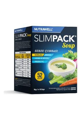 Nutrawell Slimpack Soup Sebze 18 G x 10 Saşe