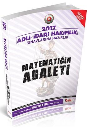 Hür Yayınları Adli İdari Hakimliği Matematiğin Adaleti Tamamı Çözümlü Soru Bankası