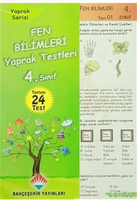 4. Sınıf Fen Bilimleri Yaprak Testleri