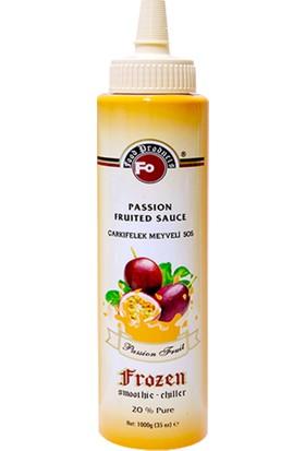 Fo Passion Fruit Çarkıfelek Frozen Meyve Püresi 1000 gr