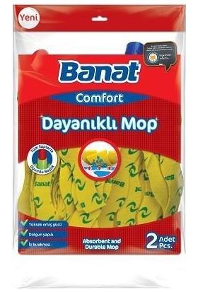 Banat Comfort Dayanıklı Mop 2' li