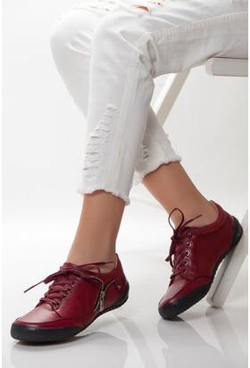 Tarçın Trc50-0503 Bordo Kadın Spor Ayakkabı Trc50-0505