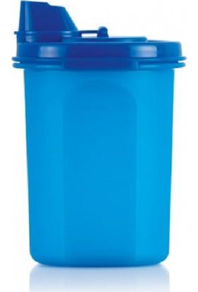 Hsgl Oval Zeytinyağlık 440 ml ( Yağdanlık ) Mavi