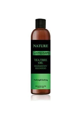 Huncalife Tea Tree Oil Hair&Body Shampoo