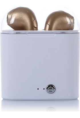 Tws I7S Stereo Bluetooth Kulaklık Gold