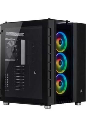 Corsair Crystal 680X RGB High Airflow Temperli Cam Smart ATX Bilgisayar Kasası CC-9011168-WW