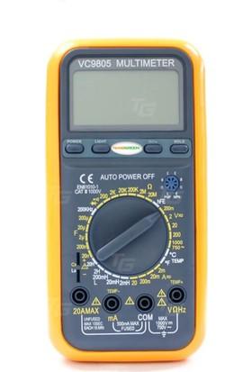 Teknogreen Vc-9805 Dijital Multimetre