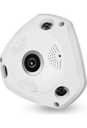 Panaromik 360 Derece Tavan Hd Tipi Wifi Ip Kamera
