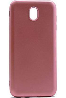 Microcase Samsung Galaxy J7 Pro Premium Matte Silikon Kılıf Pembe