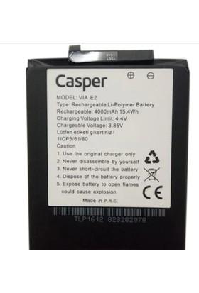 Syronix Casper Via E2 Cep Telefonu Batarya