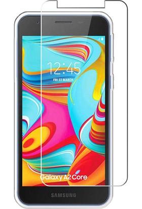 Case 4U Samsung Galaxy A2 Core Cam Ekran Koruyucu Nano Şeffaf