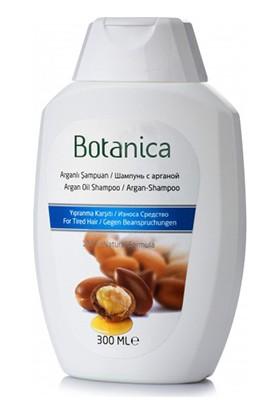 Botanica - Saç Dökülmesine Karşı - Egzama İçin - Kepeğe Karşı Etkili - Sülfatsız -Tuzsuz - Organik Argan Yağlı Şampuan