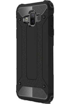 Jopus Samsung Galaxy J7 Duo Kılıf Ultra Lüx Çift Katmanlı Darbe Emici Crash Kılıf