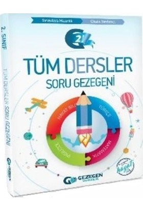 Gezegen Yayınları 2.Sınıf Tüm Dersler Soru Bankası