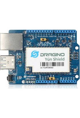 Yun Shield V1.1 Wifi Ethernet USB For Arduino + Anten