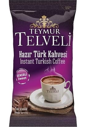 Hazır Türk Kahvesi Şekerli 11 gr 50 Li Poşet
