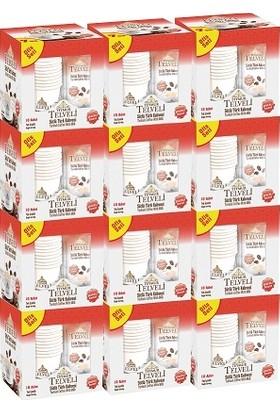 Sütlü Türk Kahvesi Şekerli 22 gr Ofis Seti 10 LUX12KUTU=120ADET=1KOLI