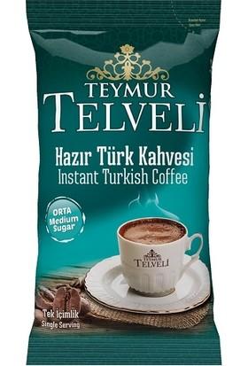 Hazır Türk Kahvesi Orta 9 gr 50 Li Poşet X6=300 Adet=1 Koli