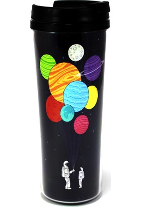 Modaroma Balon Tutan Astronot Termos Bardak 3