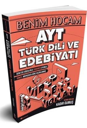 Benim Hocam Yayınları AYT Türk Dili ve Edebiyatı Video Ders Notları - Kadir Gümüş