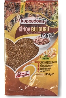 KİNOA BULGURU 360 gr