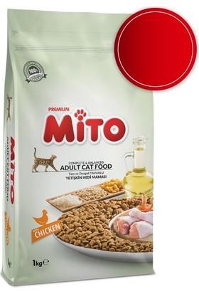 Mito Tavuklu Yetişkin Kedi Maması 1Kg